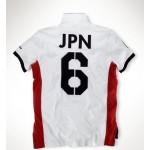 Camisa Polo Branca Japão Ralph Lauren - Cod 0234